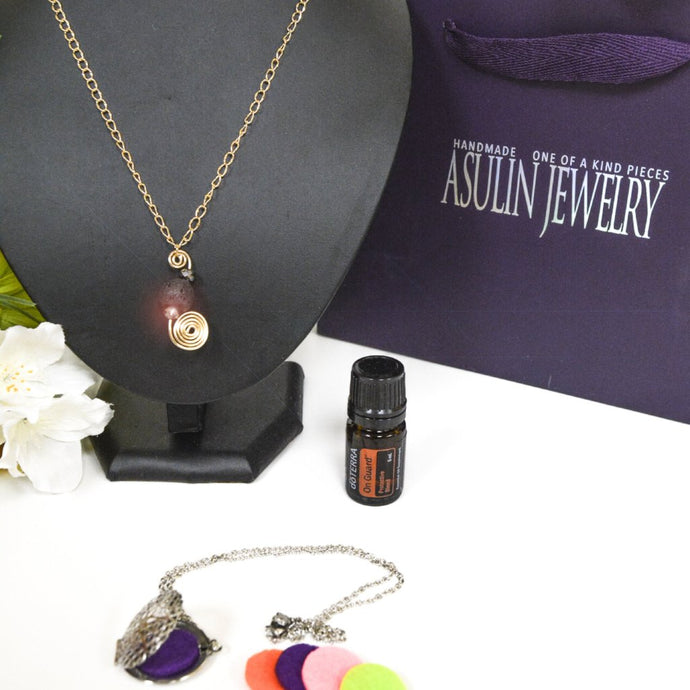 Essential Oils Necklaces 0420