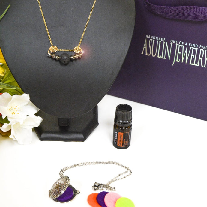 Essential Oils Necklaces 0424