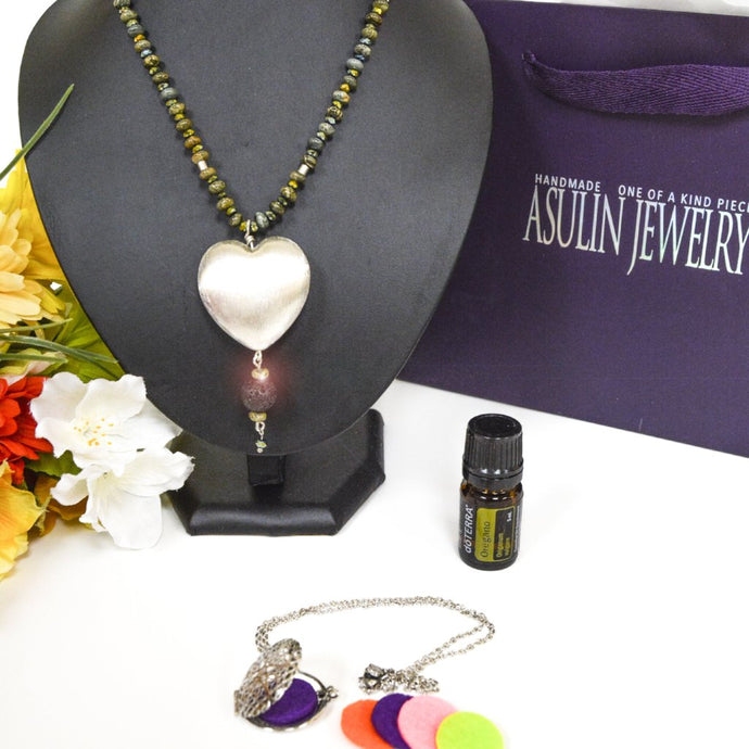 Essential Oils Necklaces 0431
