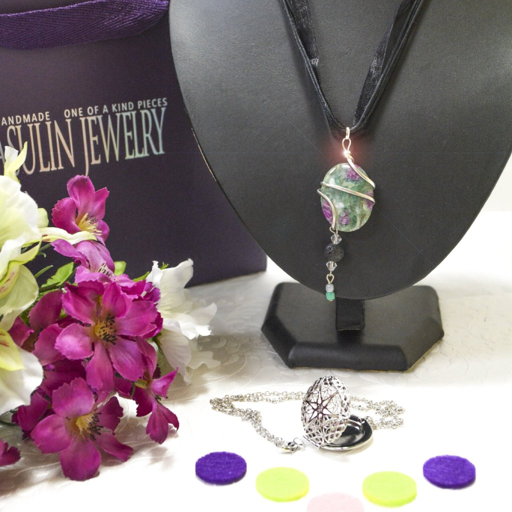 Essential Oils Necklaces 0446