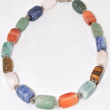 Load image into Gallery viewer, Multi Stone Bead Necklace