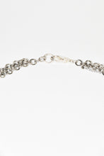 Load image into Gallery viewer, Silver color multi chain necklace
