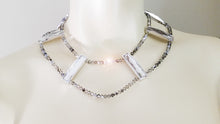 Load image into Gallery viewer, Sparkling tiny SWAROVSKI glass beads choker