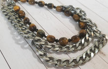 Load image into Gallery viewer, Tiger Eye Necklace