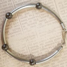 Load image into Gallery viewer, Hematite Metal Bracelet