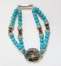 Load image into Gallery viewer, Turquoise 925 Sterling Silver Avalon Bracelet