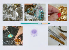 Load image into Gallery viewer, Tiger Eye Jewelry kit