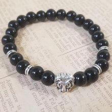 Load image into Gallery viewer, Onyx Beads Bracelet