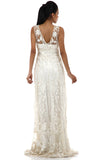 Lady R Cairo Nylon Net Corded Gown