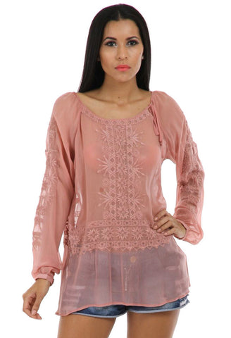 Lady R Alayna Viscose Georgette Tunic
