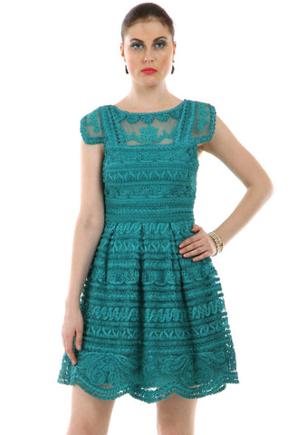 Lady R Agnis Delightful Skater Dress