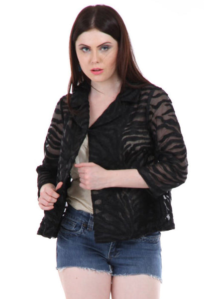 Lady R Christina Poly Organza Short Jacket