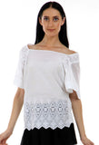 Lady R Sarrota Off-shoulder Top