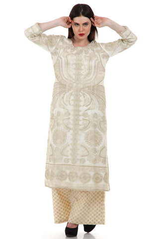 Lady R Lizette 3piece Cotton Net Suit