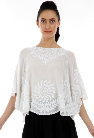 Lady R Saniaso Poncho Top
