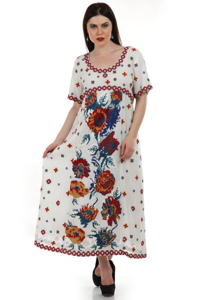 Lady R Veronica Silk Thread Flower Gown