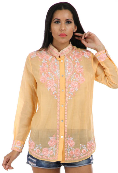 Lady R Lucy Cotton Voil Shirt