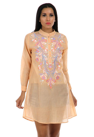 Lady R Liliana Embroidered Tunic