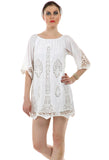 Lady R Caeser Cut Work Embroidered Tunic