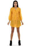 Lady R Seyung Yellow V-neckline Tunic