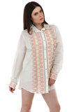 Lady R Natalia Aari Worked Shirt