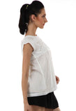 Lady R Jael High Neck Cut Work Top