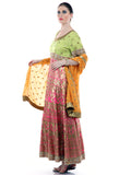 Lady R Kaipo Tri Colour Silk Suit