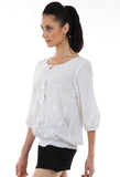 Lady R Fallon Balloon Sleeves Top