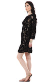 Lady R Billie Self Lace Tapping Work Dress