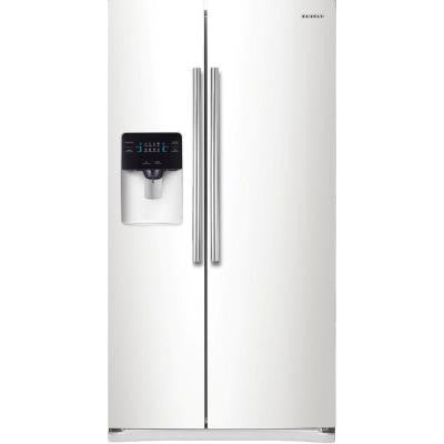 Ft. Side By Side Refrigerator With Thru