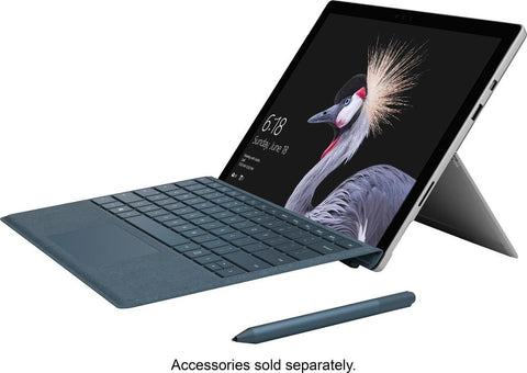 "Microsoft - Surface Pro – 12.3"" – Intel Core m3 – 4GB Memory – 128GB Solid State Drive - Silver"