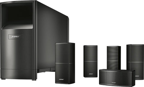 Bose® - Acoustimass® 10 Series V 5.1-Channel Home Theater Speaker System - Black