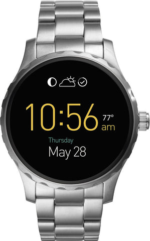 Fossil - Q Marshal Smartwatch 45mm Stainless Steel