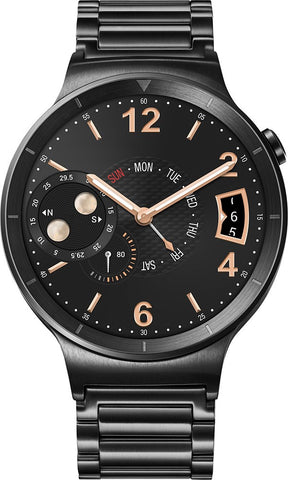 Huawei - Smartwatch 42mm Stainless Steel - Black Stainless Steel