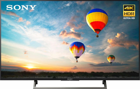"Sony - 49"" Class (48.5"" Diag.) - LED - 2160p - Smart - 4K Ultra HD TV with High Dynamic Range - Black"