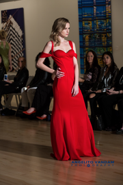 Pretty Woman Gown with Red Carpet  by  Dominique Mearns