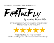 FIT4THEFLY presented by DR RIBONI & DR SUZUKI featured on CELEBRITY CRUISES