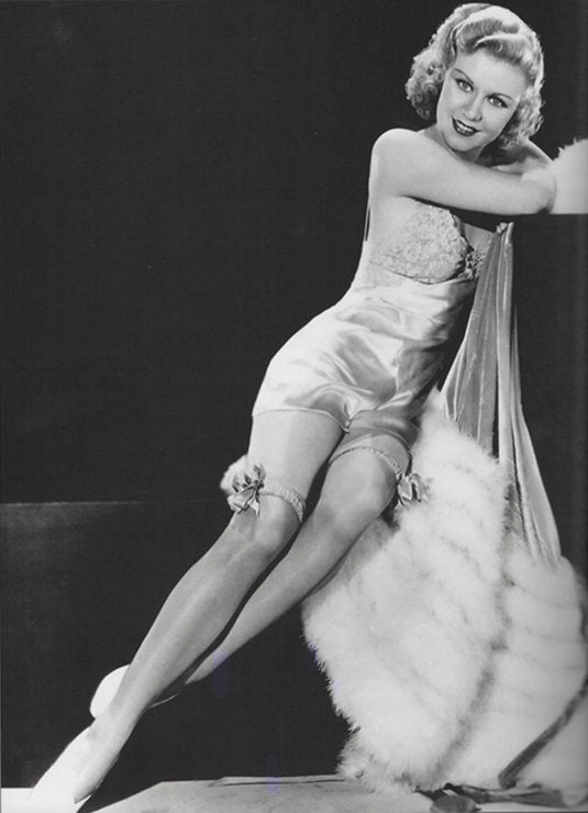 Ginger Rogers in a Silk Teddy