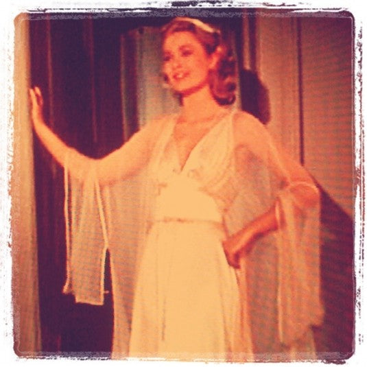 Grace Kelly Silk Slip