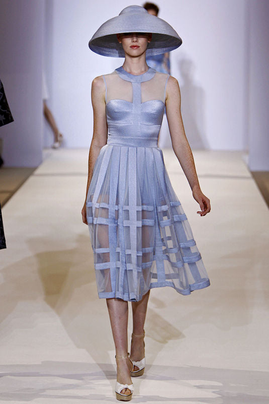 Mauve Lingerie InspiredTop at Temperley - LFW