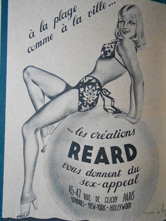 Vintage Swimwear Advertisement