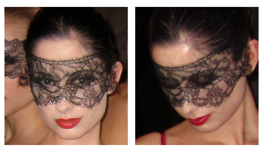 French Lace Masks