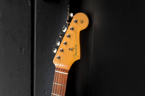 Fender Stratocaster Electric Guitar Headstock