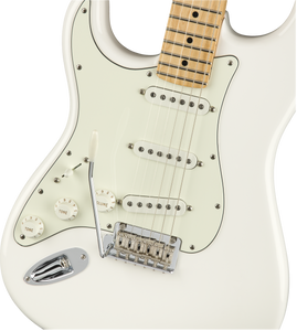 Fender Player Stratocaster Left-Handed, Maple Fingerboard, Polar White