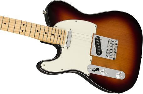 Fender Player Telecaster Left-Handed, Maple Fingerboard, 3-Color Sunburst
