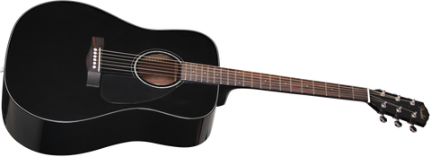 Fender CD-60 V3 Acoustic Dreadnought Black