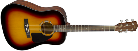 Fender CD-60 V3 Acoustic Dreadnought Sunburst