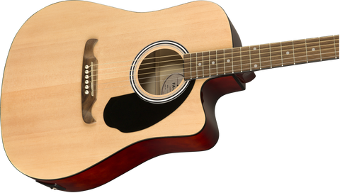 Fender FA-125CE Electro-Acoustic Dreadnought Natural