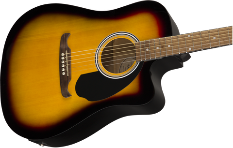 Image of Fender FA-125CE Electro-Acoustic Dreadnought Sunburst