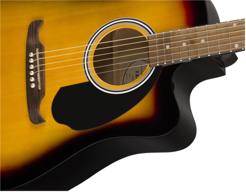 Fender FA-125CE Electro-Acoustic Dreadnought Sunburst